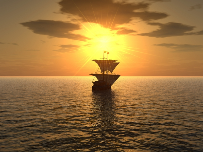 429069-ship-sunset